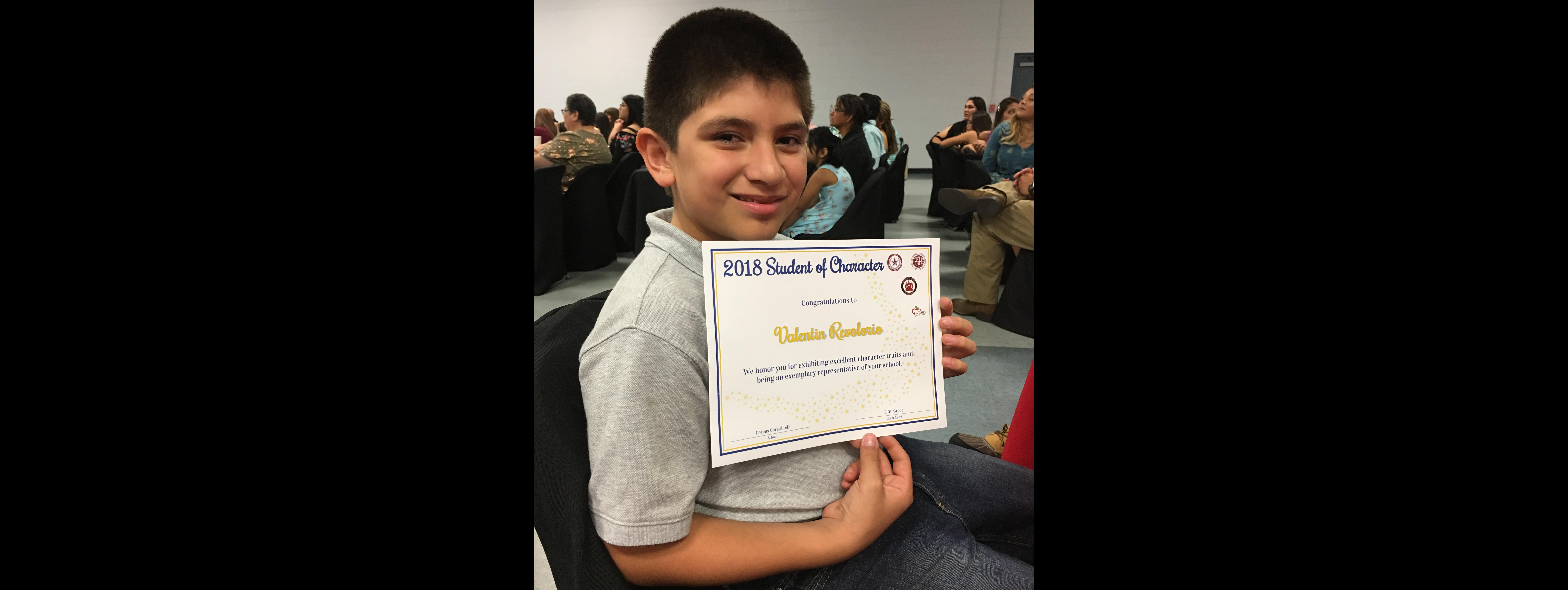 CCISD Student of Character